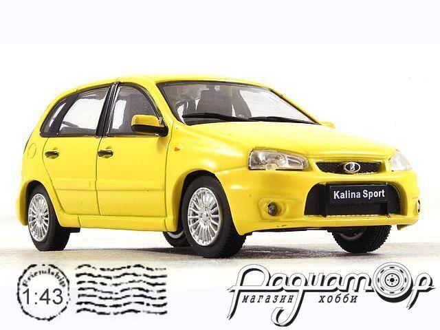 Автолегенды СССР и Соцстран №2XX, Lada Kalina Sport (2008)
