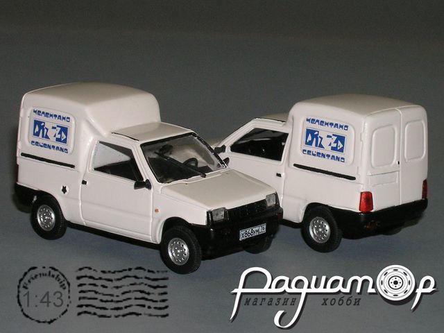 ВАЗ-17013 «Тойма» фургон Пицца (2000) РZ-78.1