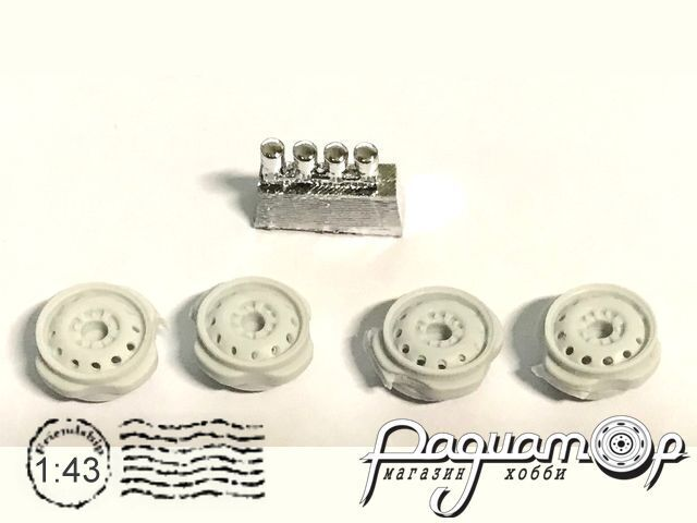 Диски ВАЗ-2121 Нива и их модификаций (4шт) ММ-А43-КД-08