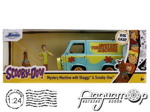 Scooby-Doo Mystery Machine with Shaggy & Scooby figures (1969) 31720