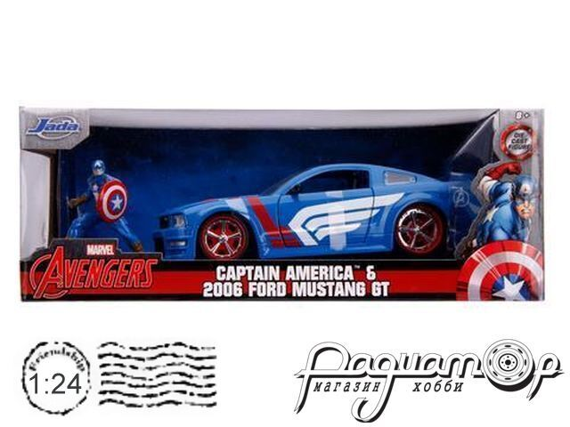 Ford Mustang GT Coupe with Captain America figure (2006) 31187