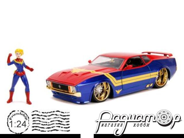 Ford Mustang Mach I with Captain Marvel figure (1973) 31193