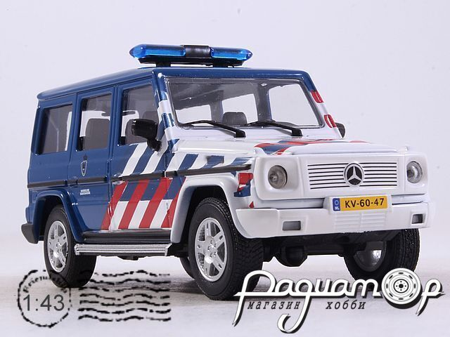 Mercedes-Benz G-Class Military Netherland Police (2015) 53341