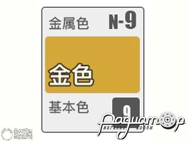 Краска Acrysion, золотой металлик (10мл) N9