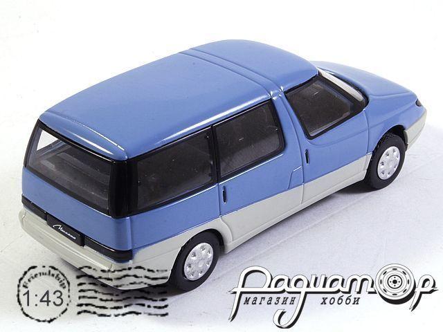 Автолегенды СССР №90, Москвич-2139 «Арбата» (1987)