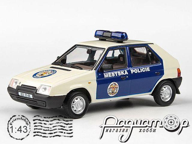 Skoda Favorit 136L Mestska Policie (1988) 143ABSX-708XB