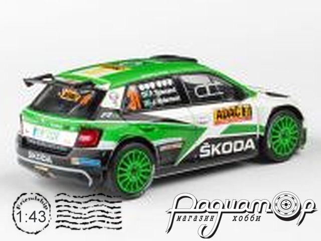 Skoda Fabia III R5 №1, ADAC Rallye Deutschland, Tidemand - Andersson (2017) 143XAB-605RE