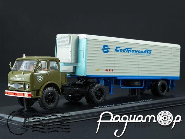 МАЗ-504 с полуприцепом Alka N12CH Sovtransavto SSM7065