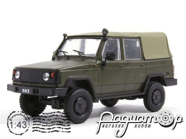 Автолегенды СССР №94, УАЗ-3172 (1986)