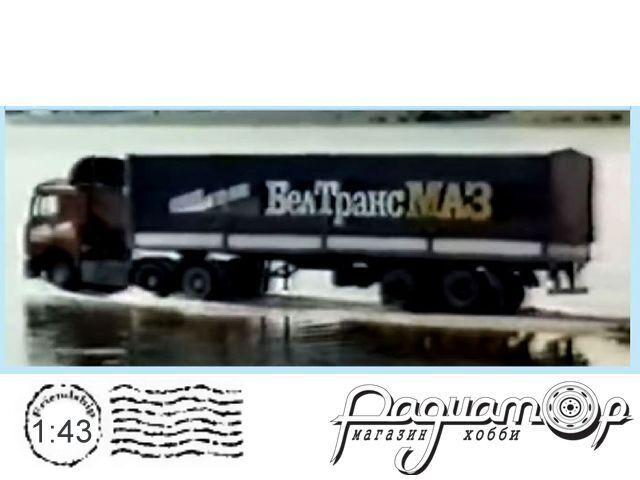 Набор декалей БелТрансМАЗ (вариант 3) (200х140мм) DKMB0093