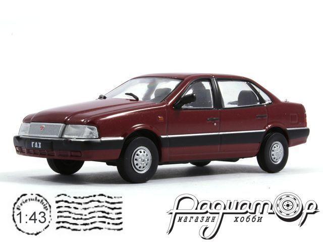 Автолегенды СССР №98, ГАЗ-3105 «Волга» (1992)