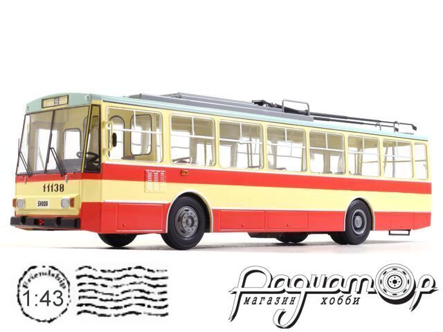 Троллейбус Skoda-14TR (1980) SSM4042