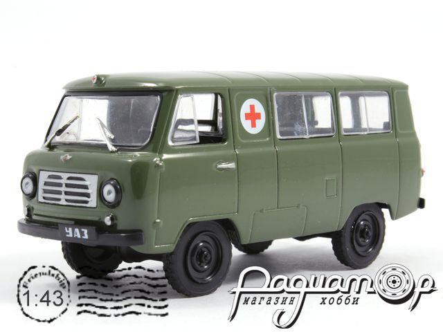 Автомобиль на службе №27, УАЗ-450АВоенная санитарная служба (1958)