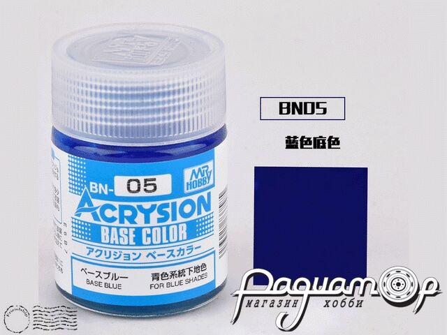 Грунтовка Acrysion, базовый синий (для синих оттенков) (18мл) BN05