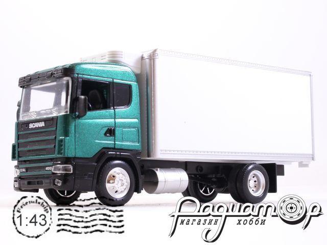 Scania R124/400 фургон-рефрижератор (1995) 15563C (VZ)