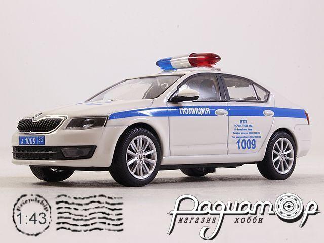 Skoda Octavia III Полиция Крыма (2019) 143ABX-026XA1