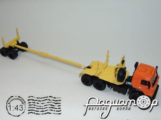 КамАЗ-43118 прицеп с роспуском (1995) 200718