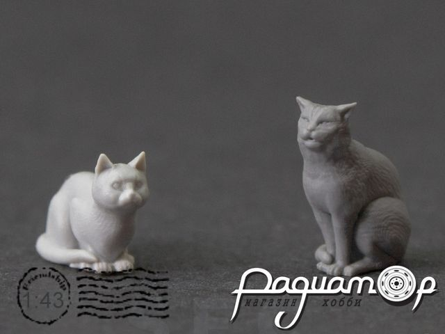 Набор фигур Коты (2шт) SEC023