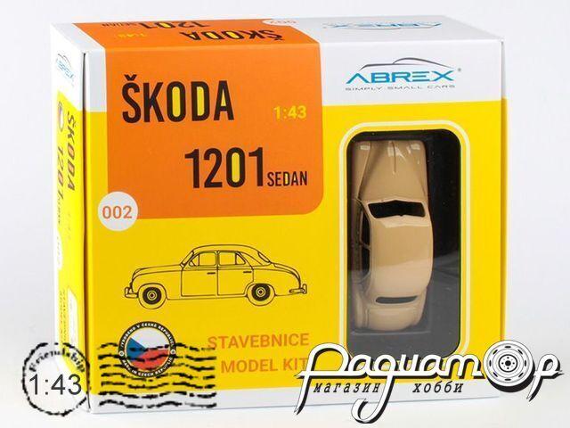 Сборная модель Skoda 1201 Taxi (1956) 143SABSX-711XDYP