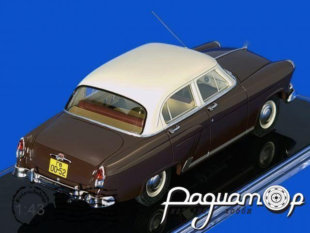 ГАЗ-M21 предсерийный (автоматическая КПП) (1956) ICV229