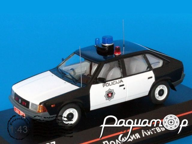 Москвич-2141 Полиция Литвы (1986) ICV107