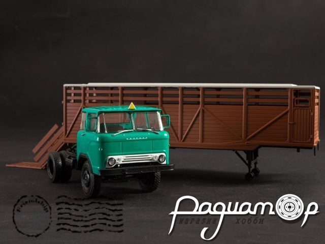 КАЗ-608 с полуприцепом ОДАЗ-857Б (1961) 102583