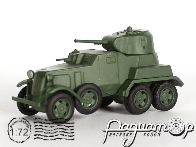 Русские танки №53, БА-10 (1938)