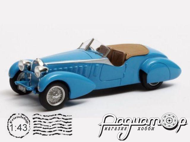 Bugatti Type 57 ch.57316 TT Tourer Therese By Bertelli (1935) MX50205-041