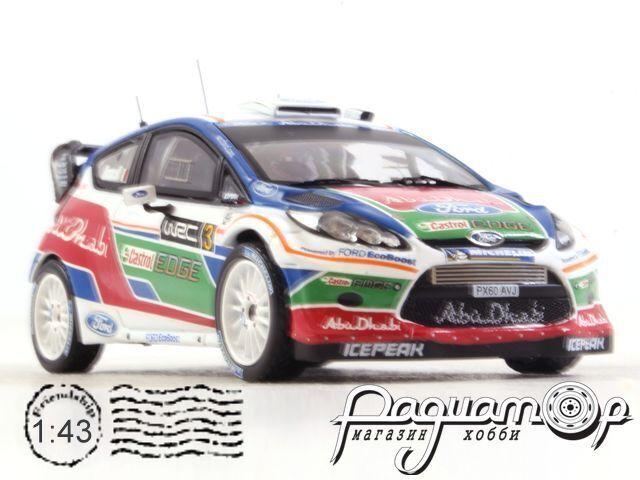 Ford Fiesta WRC №3 Rally UK Test Kirkbride Airfield (2011) RAM463