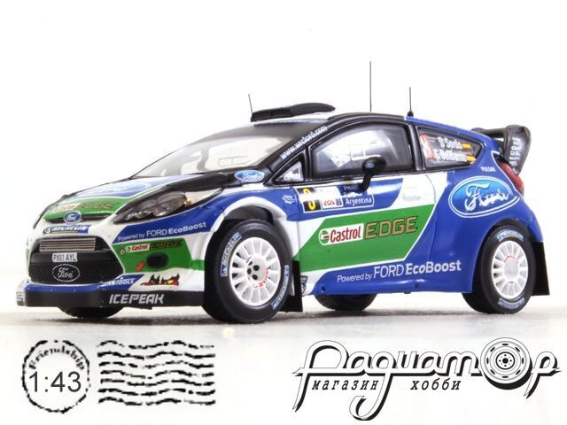 Ford Fiesta RS WRC №3 Rally Argentina (2012) RAM516