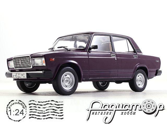 Легендарные Советские Автомобили №69, ВАЗ-21072