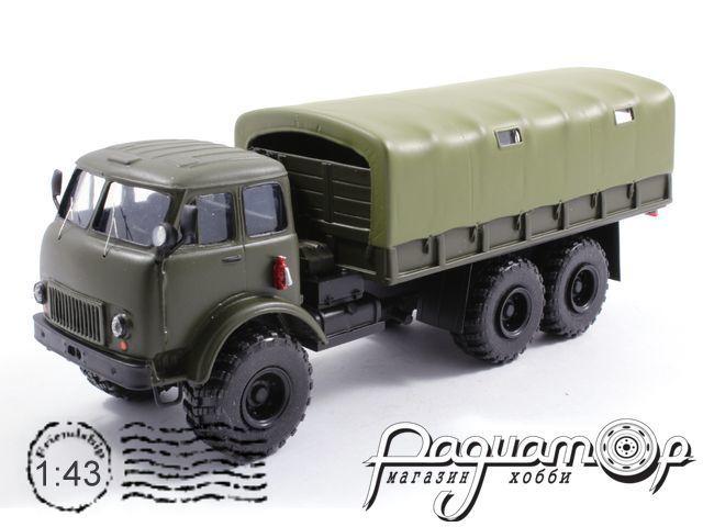 КрАЗ-253Б экспериментальный (кабина МАЗ) (1962) 1-118