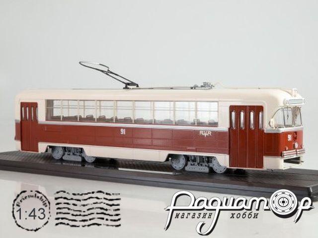 Трамвай РВЗ-6М2 (1974) SSM4046