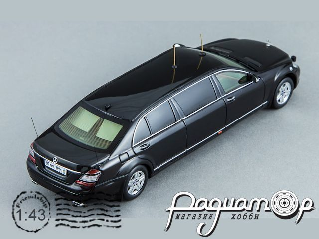 Mercedes-Benz S600 Pullman Guard W221 (лимузин Д.Медведева) (2008) GON221 (TI)