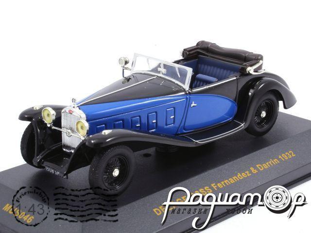 Delage D8SS Fernandez & Darrin (1932) MUS046