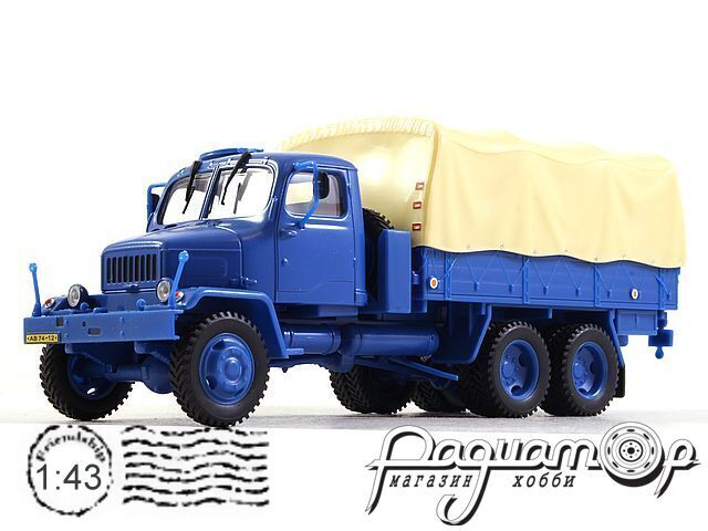 Praga V3S бортовой с тентом (1967) 143T-002KH (PV)