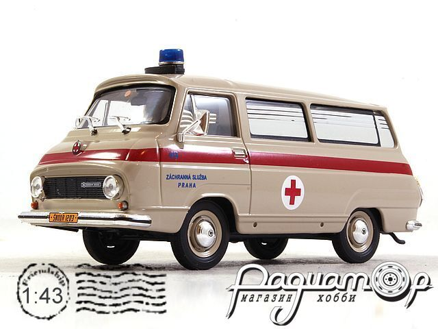 Skoda 1203 Скорая помощь (1974) 143ABSX-715XO (PV)