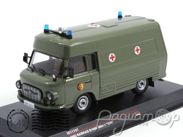 Barkas B1000 SMH-3 Military Ambulance (Санитарный) (1985) IST170T