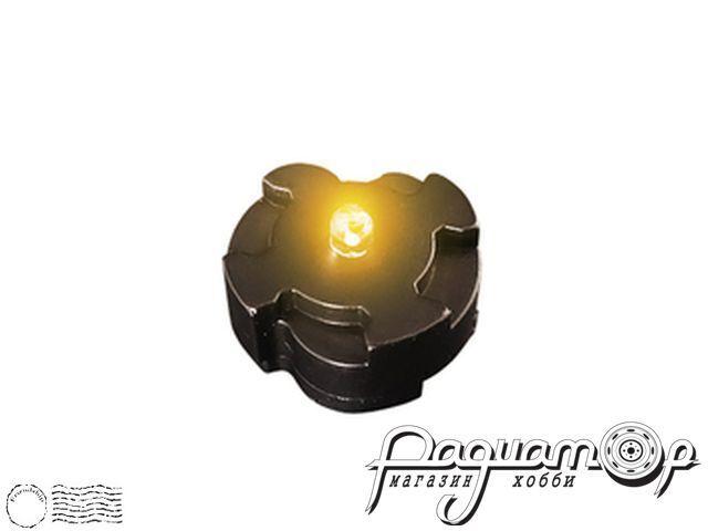 Универсальный магнитный светодиодный датчик, моргающий (желтый) 10141