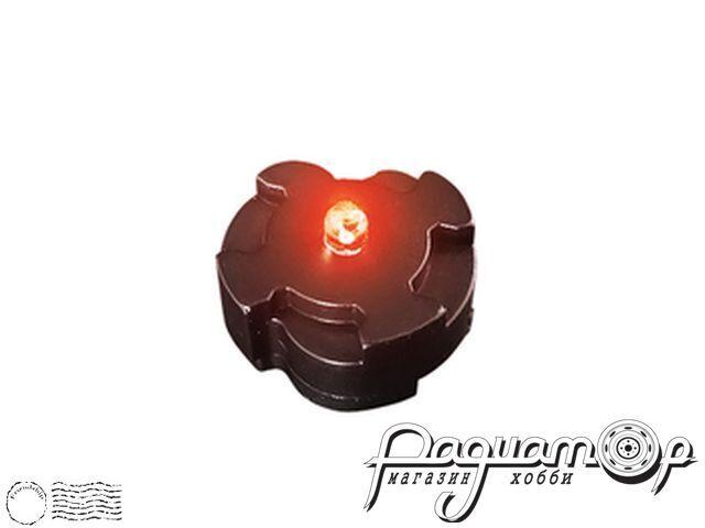 Универсальный магнитный светодиодный датчик, моргающий (красный) 10142