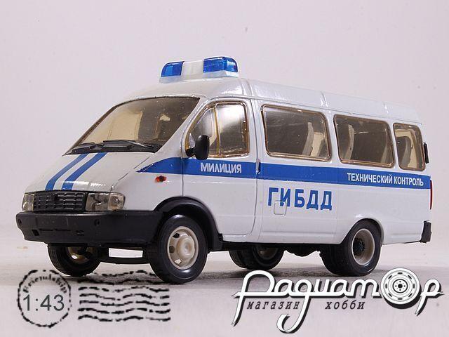 ГАЗ-2705 «Газель» ГИБДД технический контроль (1995) 2008325 (VZ)