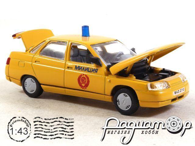 ВАЗ-2110 «Lada-110» Милиция (1996) 2008326 (VZ)