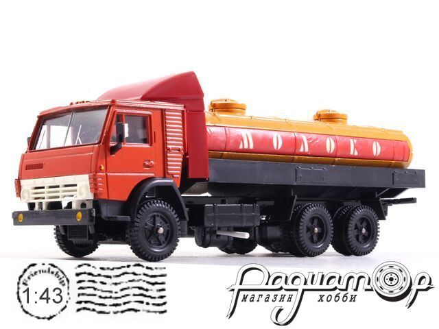 КамАЗ-53212 цистерна «Молоко» (1979) 1808914 (TI)