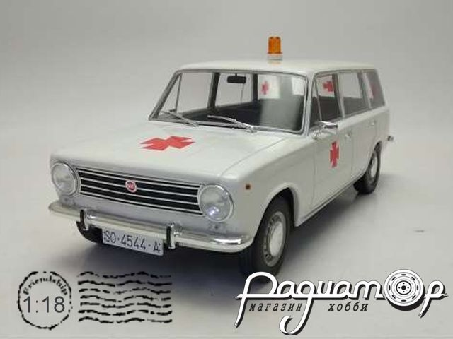 Seat Fiat 124 Familiare Ambulancia (1968) T9-1800227