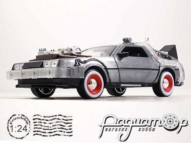 Back to the Future Delorean Part III (1985) 32166 (со световыми эффектами)