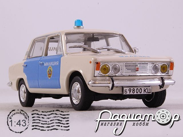 Polski Fiat 125p Милиция СССР (1967) 2328