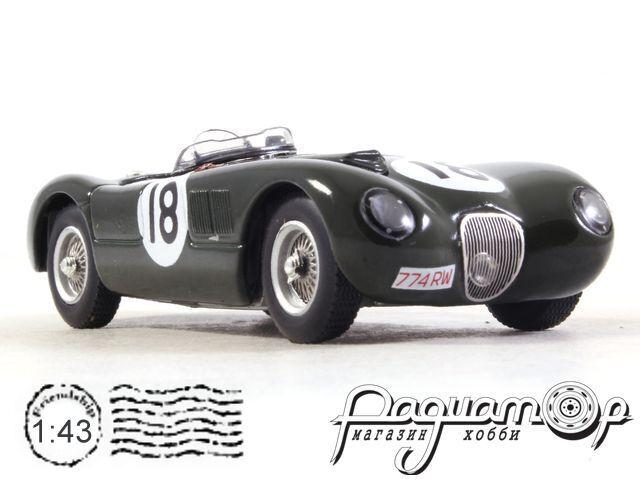Jaguar XK120C №18, 24h Le Mans, T.Bolt/D.Hamilton (1953) LM1953