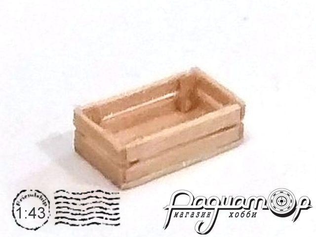 Ящик деревянный (12х7х4мм)HW02001