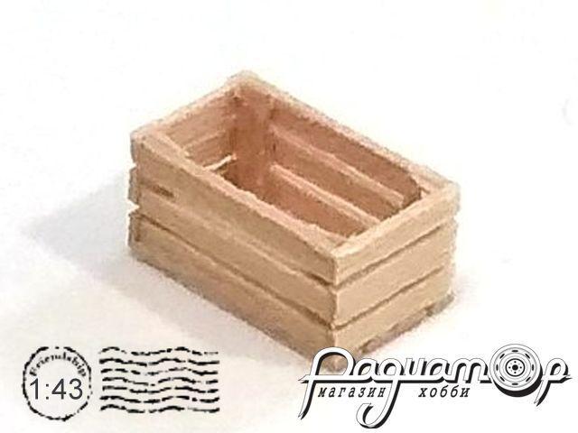 Ящик деревянный (12х7х6мм) HW02002