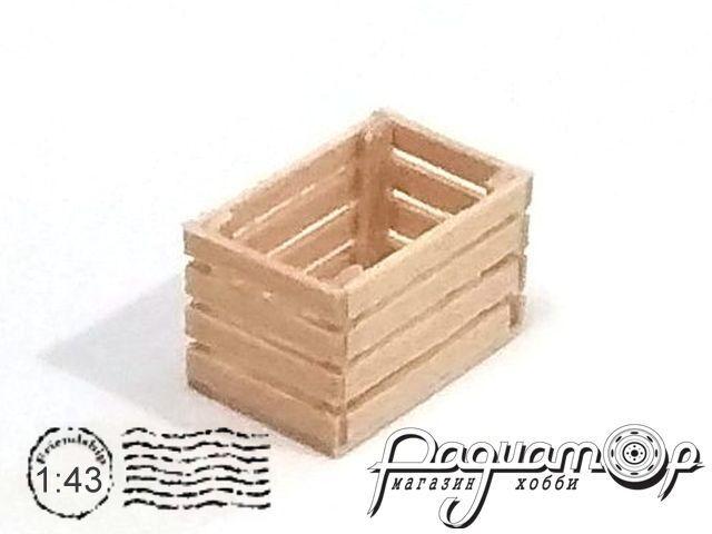 Ящик деревянный (14х9х9мм) HW02003